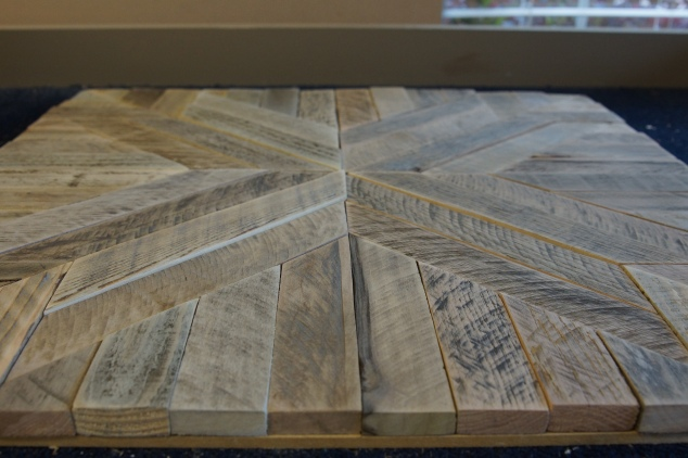 Pottery Barn Inspired Reclaimed Wood Art Wild Wood Chic